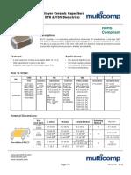 General Purpose Multilayer Ceramic Capacitors