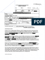 Brandon Nicholson Arrest Report