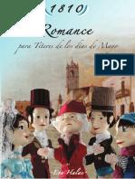 Obra de Teatro Romance Para Títeres de Los Días de Mayo