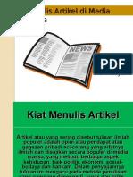 Adv Yanzi 2 Artikel dan Press Release.ppt
