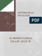 1. Historia de La Psicología