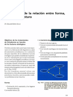 Diagnostico de La Relacion Entre Forma, Funcion y Postura