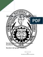 Matrices y Determinantes Informe