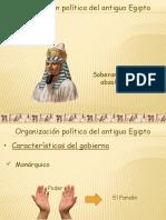 Organizacion Politica de Egipto