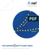 The Happy Planet Index Europe 2007