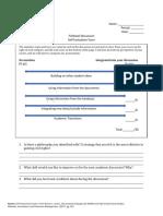 edsc 442s- fishbowl discussion self-evaluation form
