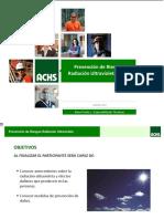 Presentación Riesgos y Consecuencias de La Exposición a Radiación UV Solar