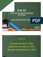Legal Basis of K12