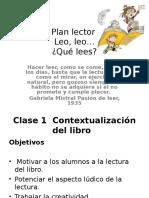 Presentación Plan Lector Kinder