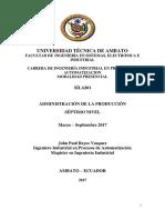 Sílabo 2017_Administración de La Producción