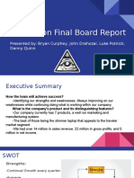 one vision final board report