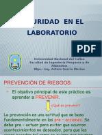1. Seguridad en El Laboratorio 1