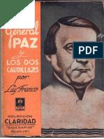 Franco, Luis. El general Paz y los dos caudillajes.pdf
