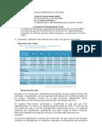 Cantidad y Capacidad de Refinerías en El Ecuador