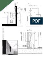 Basement - Guess Room Layout Plan - Basin Detail
