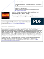 Heat Transfer Engineering Volume 31 Issue 10 2010 [Doi 10.1080_01457630903547602] Wang, Qiuwang; Chen, Guidong; Chen, Qiuyang; Zeng, Min -- Review of Improvements on Shell-And-Tube Heat Exchangers W