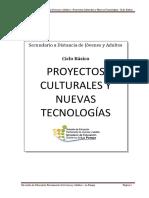 Módulo Proyectos Culturales y Nuevas Tecnologías 2017