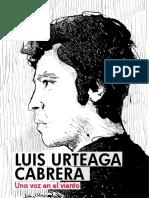 Periodico Luis Urteaga Cabrera Premio Casa de La Literatura 2017