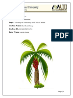 Final Thesis Advantage & Disadvantage of Oil Palm in WNBP