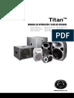 Titan Series User Manual With D-Spanish