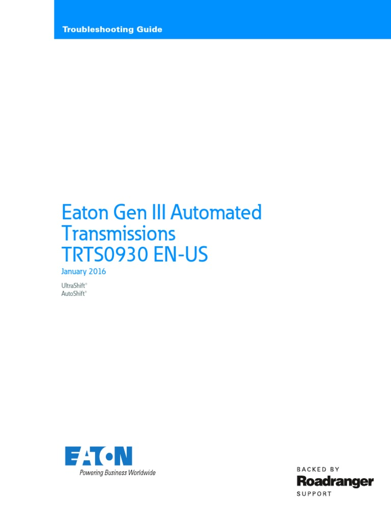 1505486103 eaton gen 3 autoshift ultrashifttroubleshooting guide clutch eaton automatic transmission wiring diagram at bayanpartner.co