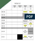 timetable rm 36