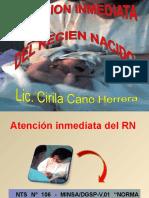 Atencion Inmediata Del Recien Nacido