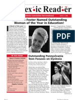 The Dyslexic Reader 2008 - Issue 48