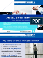 AIESEC in Austria Exchange Program Presentation