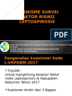 Mekanisme Survei Epidimiologi Leptospirosis