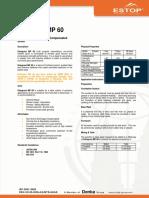 Grout - Estogrout MP60 - Data Sheet - 08-07-04