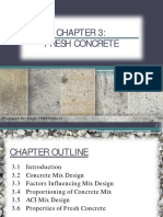 Lecture 3 - Fresh Concrete