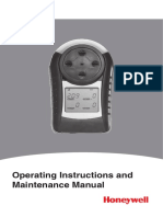 Lumidor Minimax-X4-Gas Detector Manual