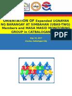 UBAS Orientation