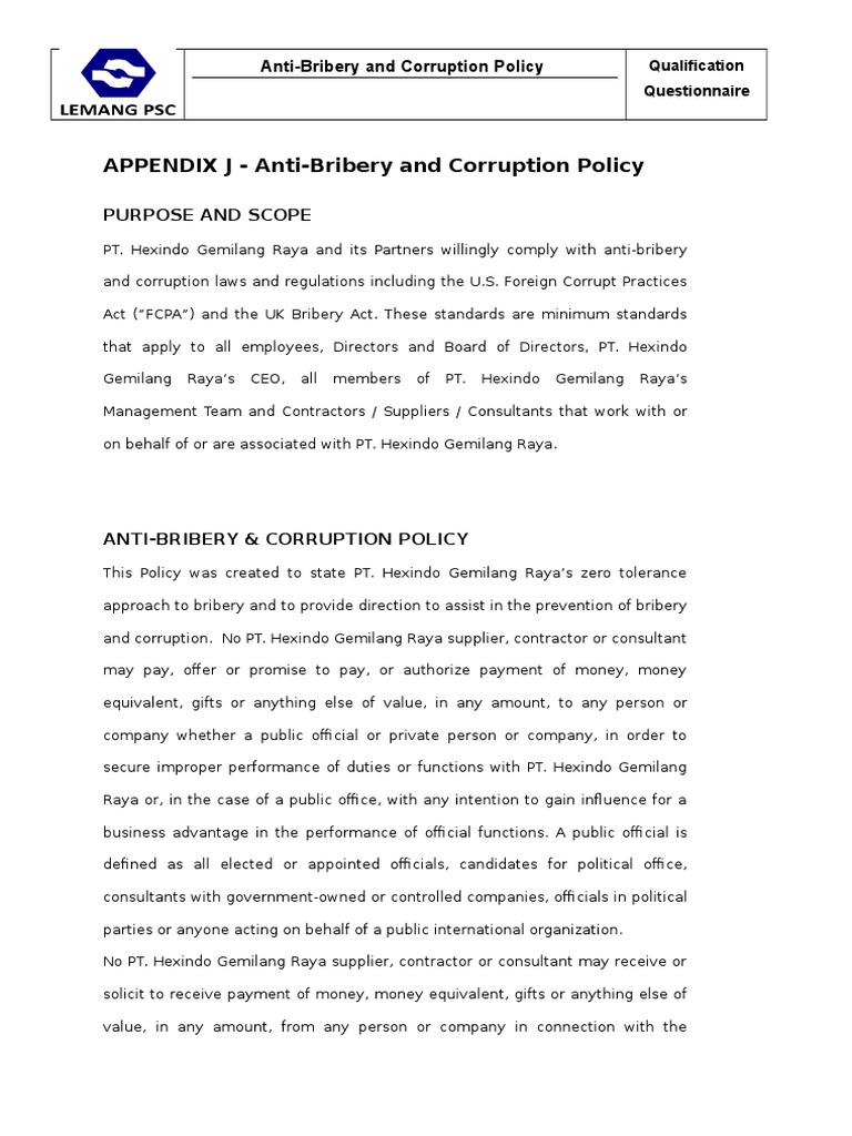 Anti bribery corruption bribery corruption maxwellsz