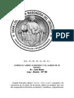 CIEM 2015 El Libre Albedrio y El Saber de Si Mismo (
