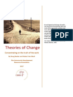 Theories of Change- Concentrating on the Truth of the Work - By Doug Reeler and Rubert Van Blerk - 2017