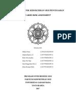Caries Risk Assessment Cra Kelompok 1