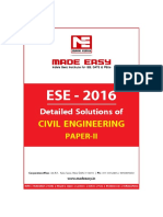 Upsc Ese 2016 Ce (II) Answer Key