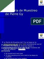 Teoria de Muestreo Pierre Gy 2.0