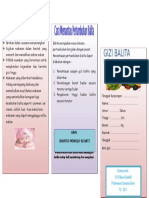 Leaflet Gizi Balita Hal 2