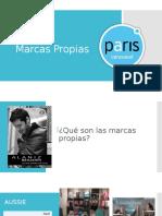 Marcas Propias Paris
