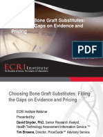 Bone Graft Substitutes Webinar FINAL PDF 9-24-14