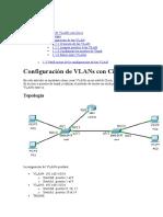Configuración de VLANs Con Cisco