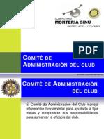 Comite Admon Del Club Presentacion