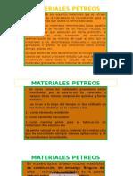 Materiales Petreos Clases Dictadas