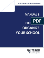 Manual3-HowToOrganizeYourSchool