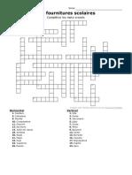 Annexe 01 - mots croisés - Fournitures scolaires.pdf