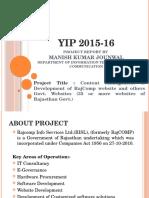 Manish YIP 2015-16(20th February 2016)