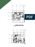 2 storey floor plan